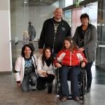 Große Überraschung für die schwerstbehinderte Admira aus Bludenz: Galileo XXL Moderator Jumbo Schreiner übergab den neuen, speziell angepassten Rollstuhl an Admira.  Die Freude war unbeschreiblich. Vergelts Gott an Jumbo und Jasmin für die neu geschenkte Lebensqualität!