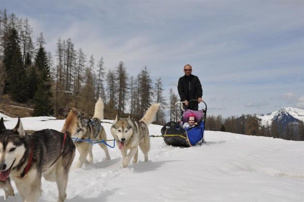Husky Day auf der Tschengla 04-2012