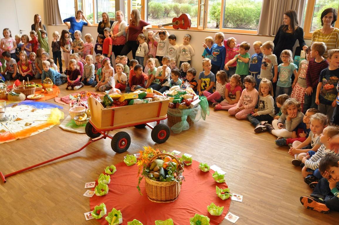Berühmt Erntedank im Kindergarten Ludesch - Stunde des Herzens #PO_21