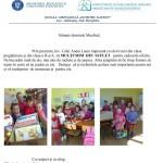 dankesschreiben kindergarten galautas an manfred (Andere)